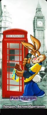 PaxToy.com - 03 Великобритания - Кролик Квики (Сторна-back) из Nesquik: Страны