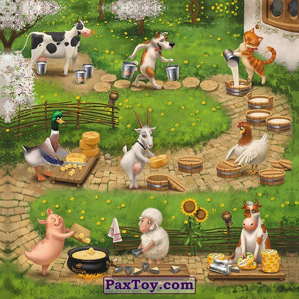 PaxToy Звени Гора (Звенигора) Пазл «Збери веселу ферму» ОРИГИНАЛ 2