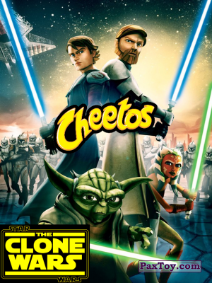 Cheetos Clone Wars - Star Wars - PaxToy