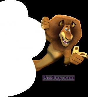 PaxToy.com - 05 Алекс - Мадагаскар (Сторна-back) из Магнит: Маленькие герои ищут друзей