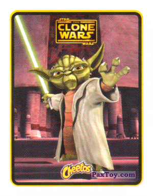 PaxToy.com - 07 Йода из Cheetos: Clone Wars - Star Wars