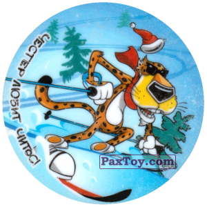 PaxToy.com - 11 Честер на лыжах среди елок из Cheetos: Честер любит Читос!