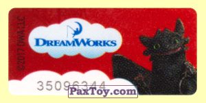 PaxToy.com - 12 Беззубик - Как приручить дракона (Широкая [2]) из Магнит: Маленькие герои ищут друзей