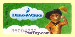 PaxToy.com - 13 Кот в сапогах - Шрек (Широкая [2]) из Магнит: Маленькие герои ищут друзей