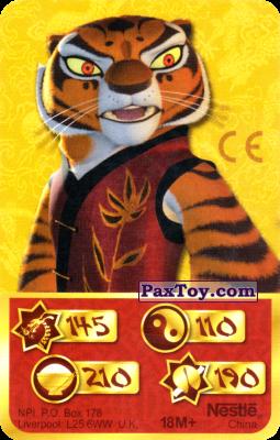 PaxToy.com - 145 Скорость Дракона - Tigress из Kosmostars: Карты «Кто Сильнее?»