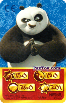 PaxToy.com - 150 Скорость Дракона - Po Panda из Kosmostars: Карты «Кто Сильнее?»