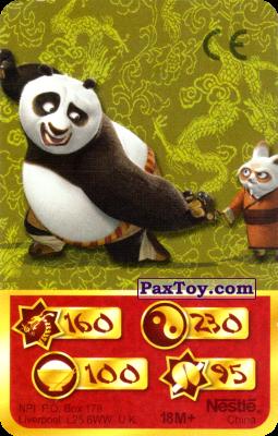 PaxToy.com - 160 Скорость Дракона - Po Panda, Shifu из Kosmostars: Карты «Кто Сильнее?»