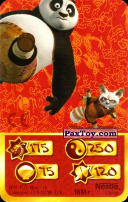 PaxToy.com - 175 Скорость Дракона - Po Panda, Shifu из Kosmostars: Карты «Кто Сильнее?»