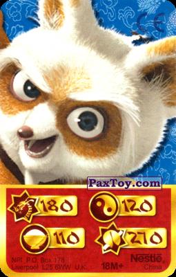PaxToy.com - 180 Скорость Дракона - Shifu из Kosmostars: Карты «Кто Сильнее?»