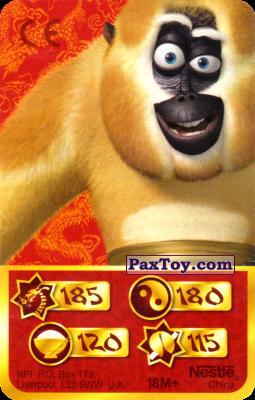 PaxToy.com - 185 Скорость Дракона - Monkey из Kosmostars: Карты «Кто Сильнее?»