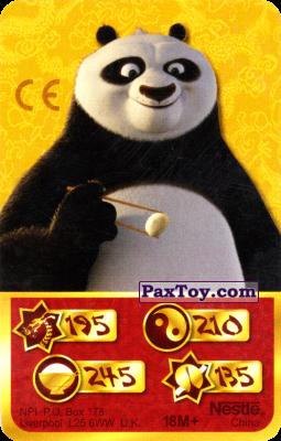 PaxToy.com - 195 Скорость Дракона - Po Panda из Kosmostars: Карты «Кто Сильнее?»