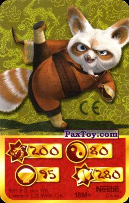 PaxToy.com - 200 Скорость Дракона - Shifu из Kosmostars: Карты «Кто Сильнее?»