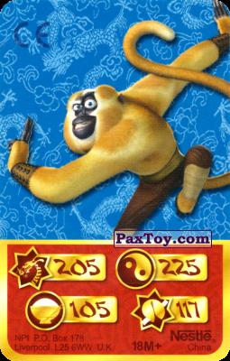 PaxToy.com - 205 Скорость Дракона - Monkey из Kosmostars: Карты «Кто Сильнее?»
