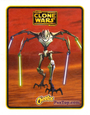 PaxToy.com - 21 Генерал Гривус из Cheetos: Clone Wars - Star Wars