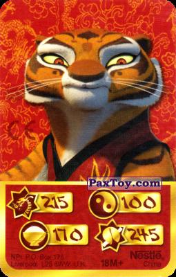 PaxToy.com - 215 Скорость Дракона - Tigress из Kosmostars: Карты «Кто Сильнее?»