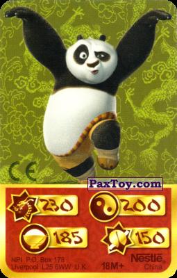 PaxToy.com - 230 Скорость Дракона - Po Panda из Kosmostars: Карты «Кто Сильнее?»