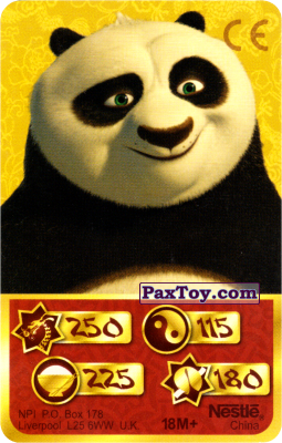 PaxToy.com - 250 Скорость Дракона - Po Panda из Kosmostars: Карты «Кто Сильнее?»