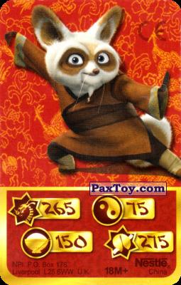 PaxToy.com - 265 Скорость Дракона - Shifu из Kosmostars: Карты «Кто Сильнее?»