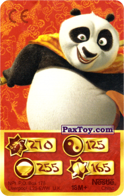 PaxToy.com - 270 Скорость Дракона - Po Panda из Kosmostars: Карты «Кто Сильнее?»