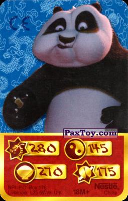 PaxToy.com - 280 Скорость Дракона - Po Panda из Kosmostars: Карты «Кто Сильнее?»