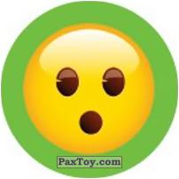 Emoji / Эмодзи - 32 Смайлик удивлен