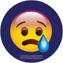 Emoji / Эмодзи - 33 Смацлик растроен и плачен