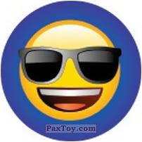 Emoji / Эмодзи - 43 Смайлик крут и в очках