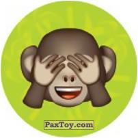 Emoji / Эмодзи - 49 Макака ничего не видет