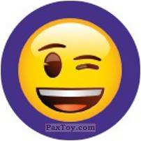 Emoji / Эмодзи - 52 Смайлик подмигивает
