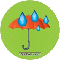 Emoji / Эмодзи - 58 Зонтик под дождем