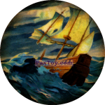 PaxToy Чорна мітка   Корабель Помста королеви Анни потрапив у шторм