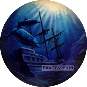 PaxToy.com - Чорна мітка - Корабель Помста королеви Анни затонув из Flint: Чорні мітки / Черные метки