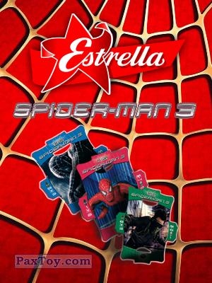 PaxToy Estrella: Стерео карточки Spider-Man 3