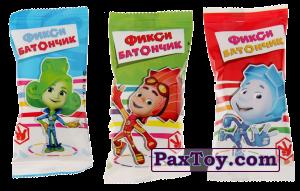 PaxToy Фикси Батончик - Батончики