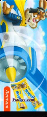PaxToy.com - 05 Квики - Летчик из Nesquik: Профессии (Наклейки из батончика)