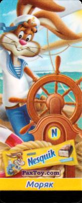 PaxToy.com - 06 Квики - Моряк из Nesquik: Профессии (Наклейки из батончика)