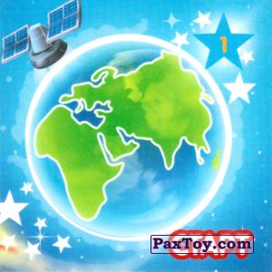 """PaxToy.com - 01 СТАРТ - ЗЕМЛЯ из Растишка: Магниты из серии """"Изучай космос"""""""