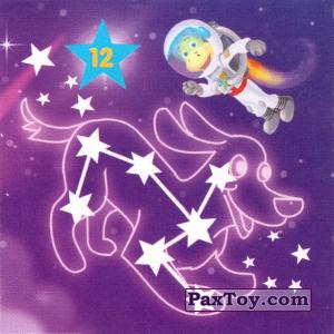"""PaxToy.com - 12 Созвездие БОЛЬШОГО ПСА из Растишка: Магниты из серии """"Изучай космос"""""""