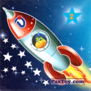 """PaxToy.com - 02 РАКЕТА из Растишка: Магниты из серии """"Изучай космос"""""""