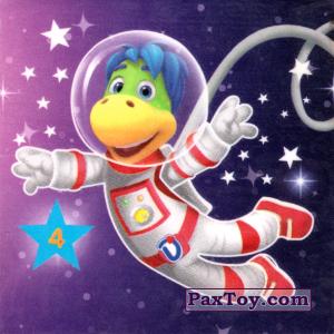 """PaxToy.com - 04 НЕВЕСОМОСТЬ из Растишка: Магниты из серии """"Изучай космос"""""""