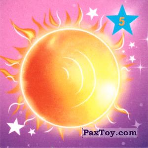 """PaxToy.com - 05 СОЛНЦЕ из Растишка: Магниты из серии """"Изучай космос"""""""