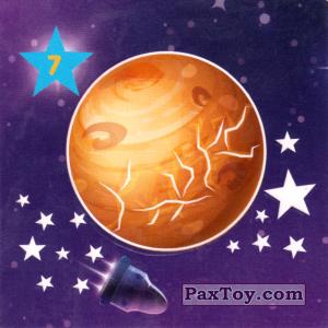 """PaxToy.com - 07 ВЕНЕРА из Растишка: Магниты из серии """"Изучай космос"""""""