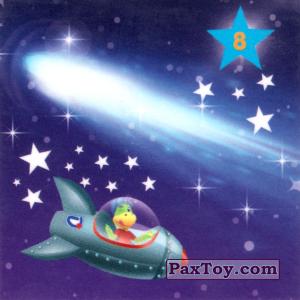 """PaxToy.com - 08 КОМЕТА из Растишка: Магниты из серии """"Изучай космос"""""""