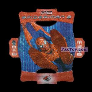 PaxToy.com - Стерео карточка - Цвет Красный #70 из Люкс Чипсы: Стерео карточки Spider-Man 3