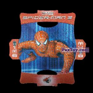 PaxToy.com - Стерео карточка - Цвет Красный #75 из Люкс Чипсы: Стерео карточки Spider-Man 3