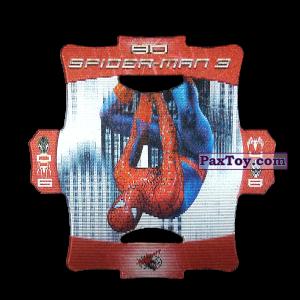 PaxToy.com - Стерео карточка - Цвет Красный #90 из Люкс Чипсы: Стерео карточки Spider-Man 3