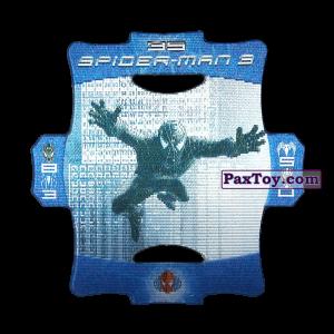 PaxToy.com - Стерео карточка - Цвет Синий #35 из Люкс Чипсы: Стерео карточки Spider-Man 3