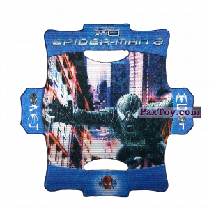 PaxToy.com - Стерео карточка - Цвет Синий #70 из Люкс Чипсы: Стерео карточки Spider-Man 3