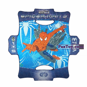 PaxToy.com - Стерео карточка - Цвет Темно-Синий #20 из Люкс Чипсы: Стерео карточки Spider-Man 3