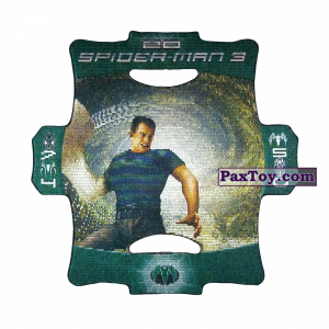 PaxToy.com - Стерео карточка - Цвет Зелёный #20 из Люкс Чипсы: Стерео карточки Spider-Man 3